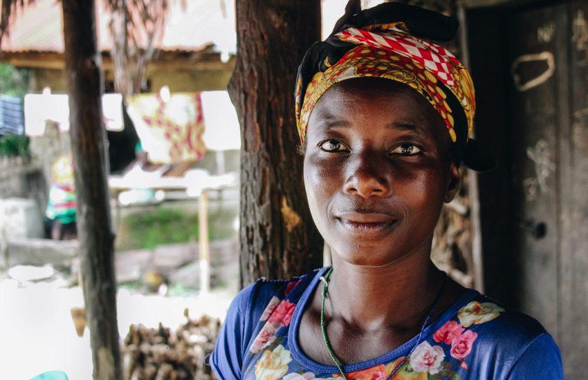 Portret foto van Tanzaniaanse vrouw