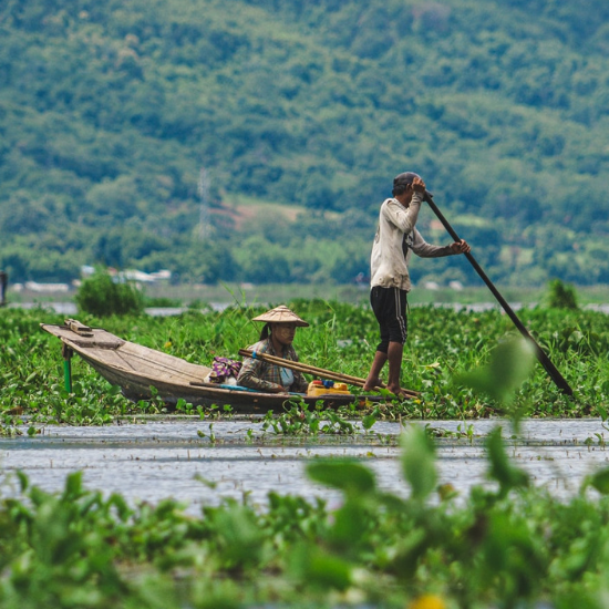 Fishermen in Myanmar - Photo by Julianna Corbett on Unsplash