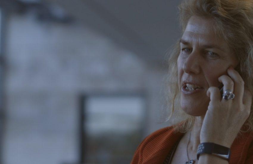 Linda Broekhuizen of Dutch Development Bank FMO in a call