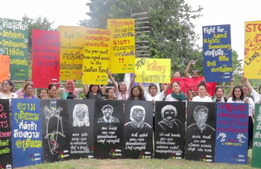 Women human rights defenders Southeast Asia and India join in Resisters Dialogue